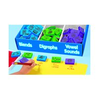 Fill-In-The-Blank Phonics Stamps - Set 2