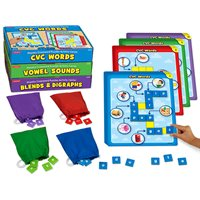Phonics Crossword Puzzles - Complete Set