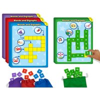Phonics Crossword Puzzle - Blends & Digraphs
