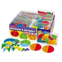 Fractions & Decimals Hands-On Teaching Kit