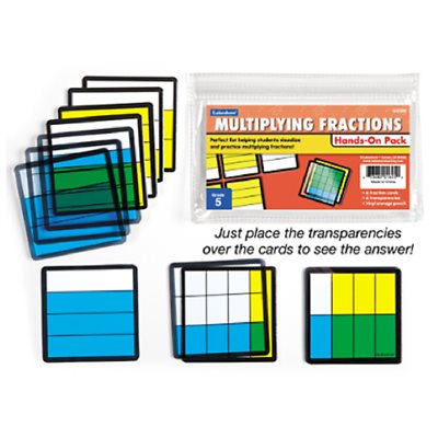 Multiplying Fractions Extra Student Pack