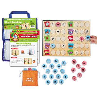 Family Engagement Word Building Pack