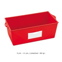 Help-Yourself Book Box-Red
