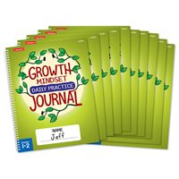 Growth Mindset Journal - Gr 1-2 - Set of 10