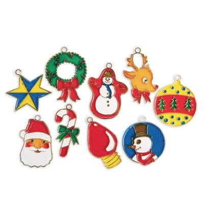 Christmas Cuties Stain / Frames-Pack of 18