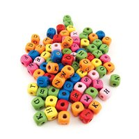 ABC Cube Beads - Pack of 225