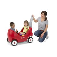 Simplay3® High Back Wagon - Red