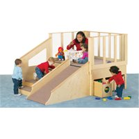 Jonti-Craft® Tiny Tots Loft - 12-24 Months - without Bins