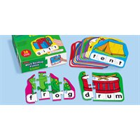 4-Letter Word Building Puzzles