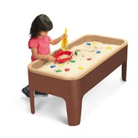 Toddler Sand & Water Table-Natural Colours