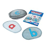 Alphabet Stones Floor Stickers Social Distancing
