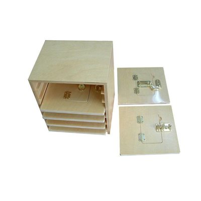 Latch Boards 20x20cm-Set of 6