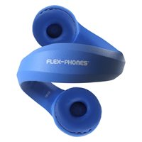 Hamiltonbuhl Flex-Phones, Foam Headphones - Blue