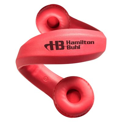 Hamiltonbuhl Flex-Phones, Foam Headphones - Red