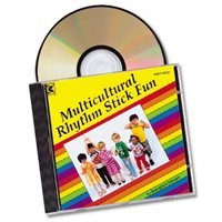 Multicultural Rhythm Stick - Cd