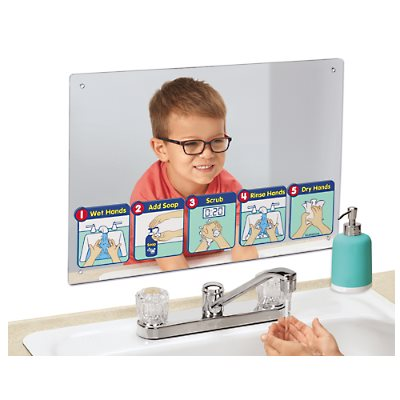 Healthy Habits Handwashing Mirror