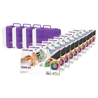 LittleBits CODE Kit Education Class Pack - 30 Students