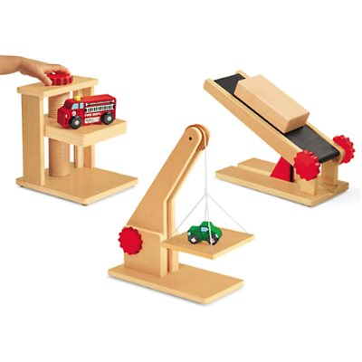 Block Play Simple Machines Set