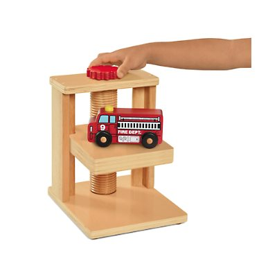 Block Play Simple Machines-Elevator