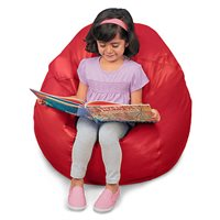 Big Beanbag Seat - Red