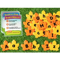 Learning Letters Activity Leaves