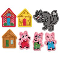3 Little Pigs Story Puppet Kit
