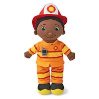 Firefighter Washable Doll