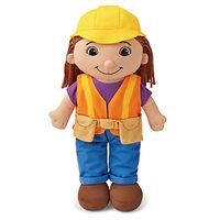Construction Worker Washable Doll