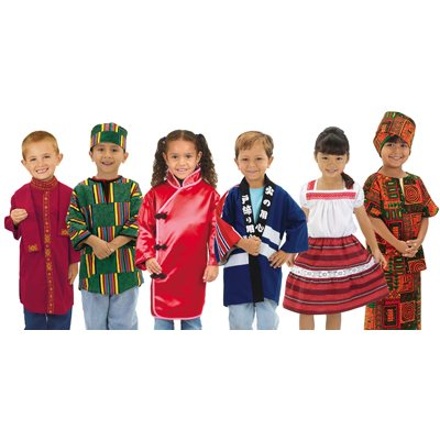 Wintergreen Multicultural Clothing - Complete Set