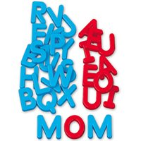 Word Building Magnetic Letters-Uppercase