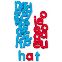 Word Building Magnetic Letters-Lowercase
