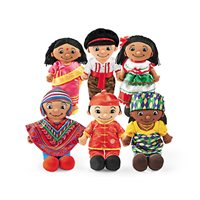 Dolls From Around The World-Complete Set