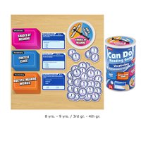 Can Do-Reading Vocabulary Games -Gr. 3-4