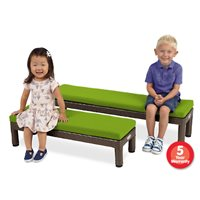Toddler Outdoor Bench- 48""