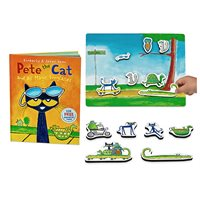 Pete the Cat and His Magic Sunglasses Magnetic Storytelling Kit