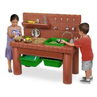Pump And Play Mud Kitchen