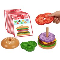 Create-A-Burger Sequencing Stacker