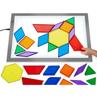 Jumbo Translucent Pattern Blocks
