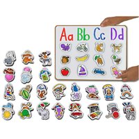 Alphabet Picture Magnets