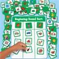 Beginning Sounds Sorting Board
