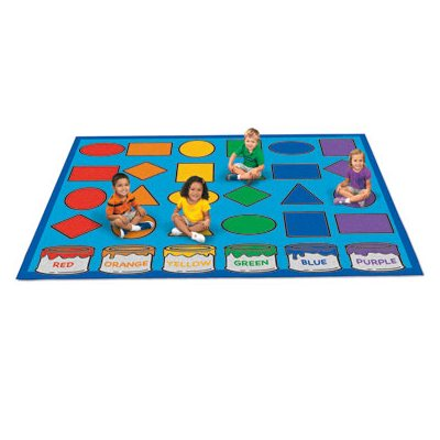 6' x 9' Learn Shapes - Colour Carpet