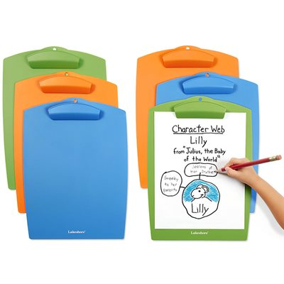 Classroom Clipboards-Set of 6