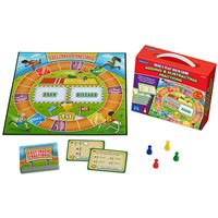 Add / Subtract / Fractions Grab-Play Game Gr 3-4
