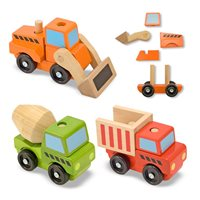 Construction Stacking Vehicles - set of 3