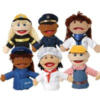 Career Puppets - Set of 6
