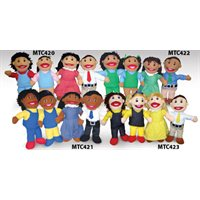 First Nations Families Puppet Set