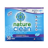 Nature Clean® Laundry Powder - Hypoallergenic - 3.4 kg