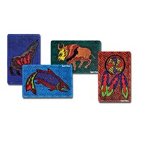 Wolf, Salmon, Bison, Dreamcatcher Puzzles