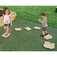 Stepping Logs - Set of 10
