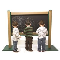 4' Wide Portable Chalkboard